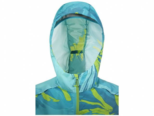 Salomon Lightning Wind Graphic Hoodview Jacke (Damen)