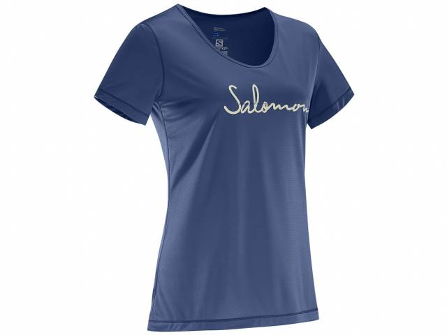 Salomon Mazy Graphic SS TEE W (Damen)