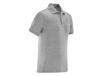 Salomon Polo Shirt EXPLORE POLO M GY (Herren)