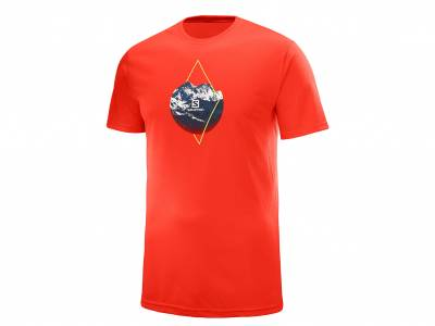 Salomon T-Shirt X ALP GRAPHIC SS TEE M FI (Herren)