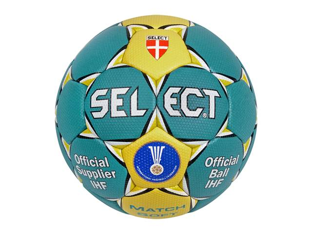 SELECT Handball Match Soft (blau/gelb)