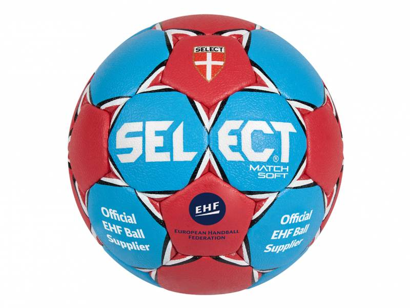 SELECT Handball Match Soft (blau/rot)